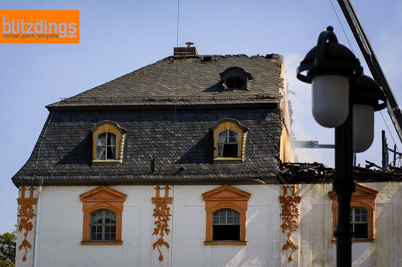 03.+04.09.2004 Weimar Anna Amalia Bibliothek Brand Aufräumarbeiten (Foto: Michael Paech / TA Weimar)